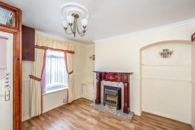 Living Room of Lind Street, Liverpool, Merseyside L4