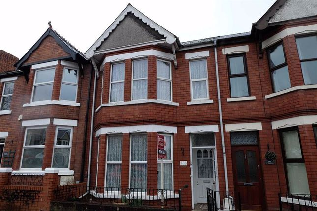 Thumbnail Terraced house for sale in Gladstone Road, Barry, Vale Of Glamorgan