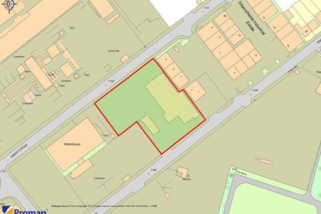 Thumbnail Land to let in Land At Greenshields, Bradfield Road, London