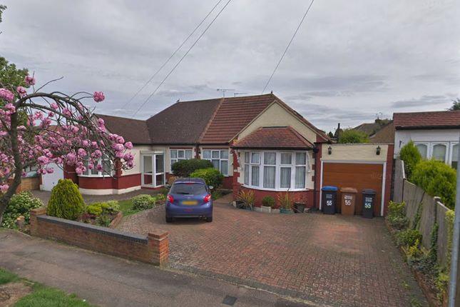 Thumbnail Semi-detached bungalow for sale in Theobalds Road, Cuffley, Hertfordshire