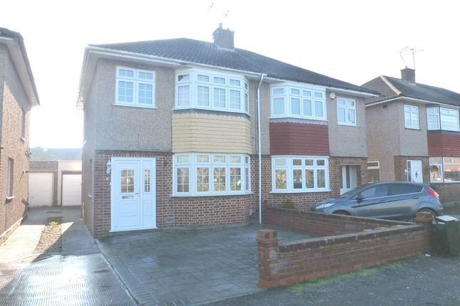 Thumbnail Semi-detached house for sale in Hamilton Avenue, Hoddesdon
