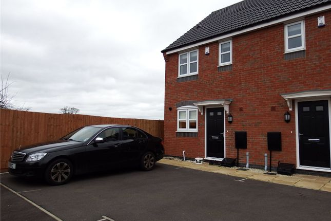 Thumbnail Semi-detached house to rent in Washington Road, Thurmaston, Leicester, Leicestershire