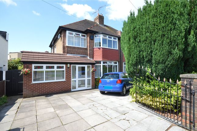 Thumbnail Semi-detached house for sale in Mather Avenue, Allerton, Liverpool