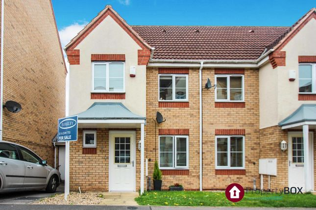 Thumbnail Semi-detached house for sale in Thistley Close, Thorpe Astley, Leicester