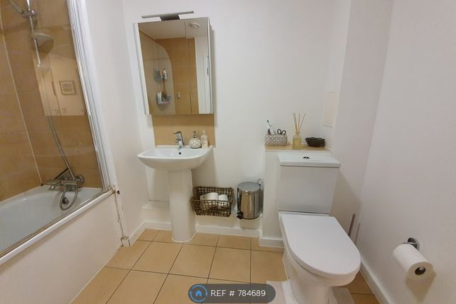 Bathroom With Bath/Shower And Toilet