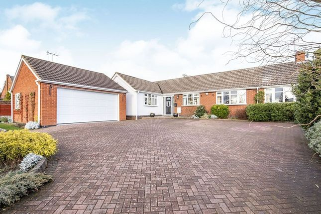 Thumbnail Bungalow for sale in Station Road, Elmesthorpe, Leicester