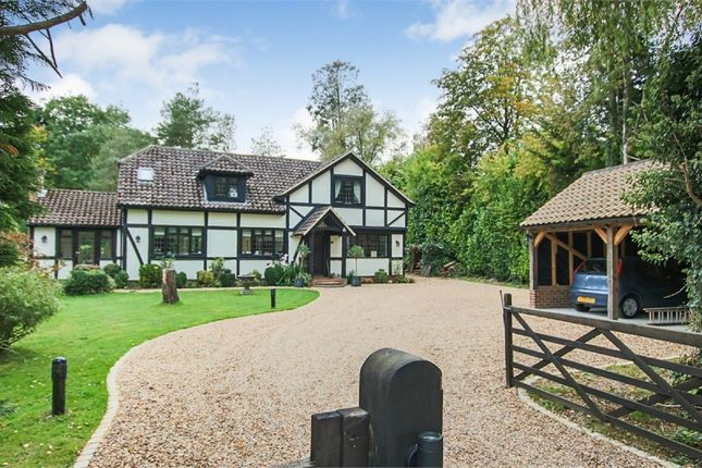 Thumbnail Detached house for sale in Domewood, Copthorne, Surrey