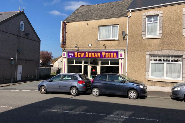 Thumbnail Retail premises for sale in St Teilo Street, Pontarddulais, Swansea