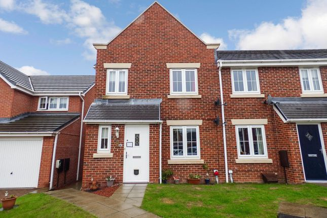3 bed terraced house for sale in Arkless Grove, The Grove, Consett DH8