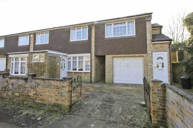 Thumbnail End terrace house for sale in Leacroft Close, Yiewsley, Middlesex
