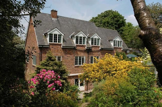 Thumbnail Detached house for sale in Cottage Lane, Macclesfield, Cheshire