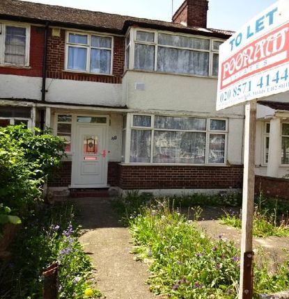 Thumbnail Terraced house to rent in Wentworth Road, Southall