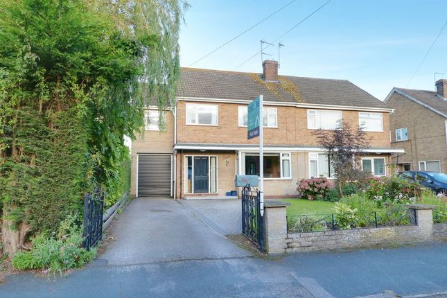 Thumbnail Semi-detached house for sale in Mill Rise, Swanland, North Ferriby