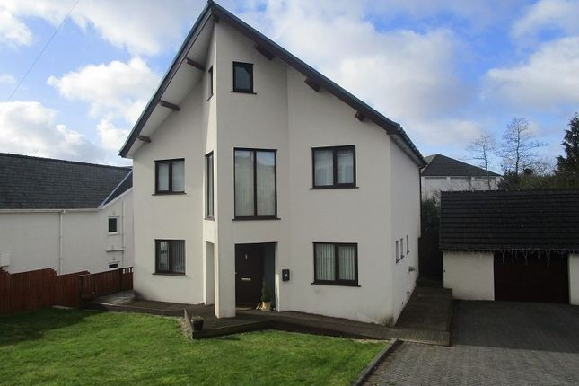 Thumbnail Detached house for sale in Walters Road, Cwmllynfell, Swansea, City & County Of Swansea.