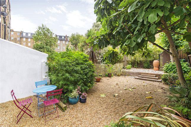 Garden of Lanhill Road, London W9