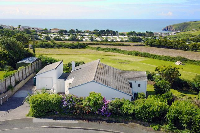 Thumbnail Detached bungalow for sale in Penlee Close, Praa Sands, Penzance