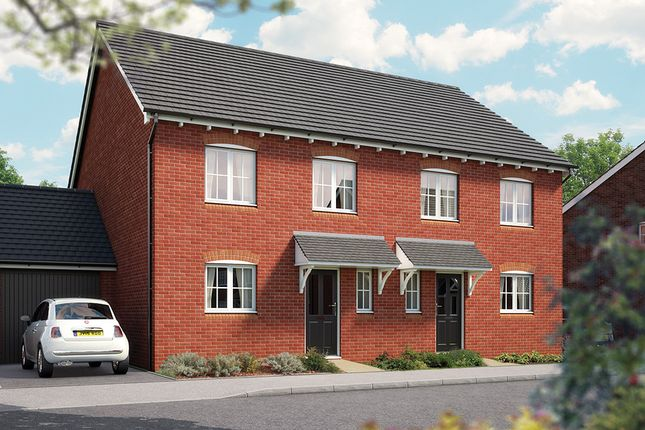 "Thumbnail Semi-detached house for sale in ""The Salisbury"" at Weights Lane Business Park, Weights Lane, Redditch"