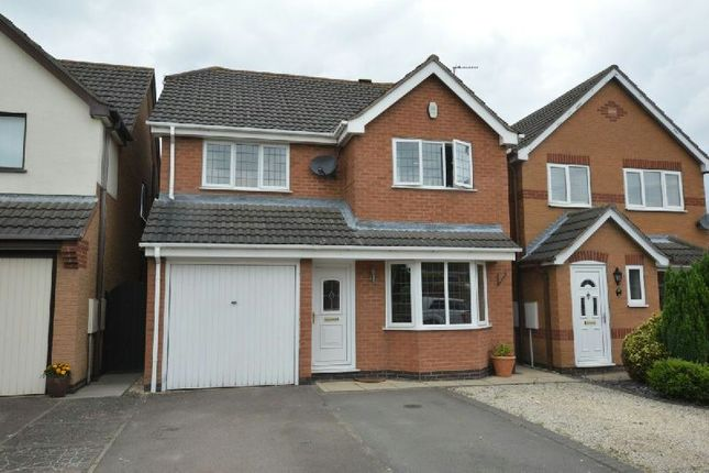Thumbnail Detached house for sale in Humes Close, Whetstone, Leicester