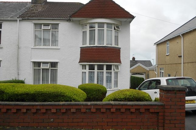 Thumbnail Semi-detached house to rent in St Catherines Road, Baglan, Port Talbot, Neath Port Talbot.