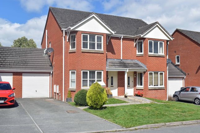 Thumbnail Semi-detached house for sale in Tremont Park, Llandrindod Wells