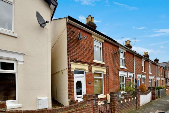 Thumbnail End terrace house for sale in Canterbury Road, Colchester