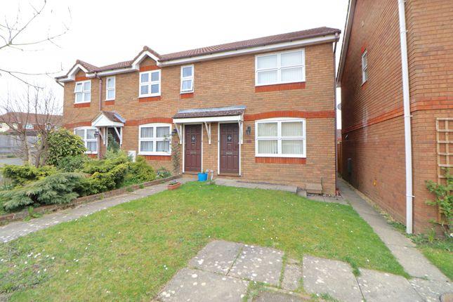 Thumbnail End terrace house to rent in St. Mellion Close, Hailsham, East Sussex