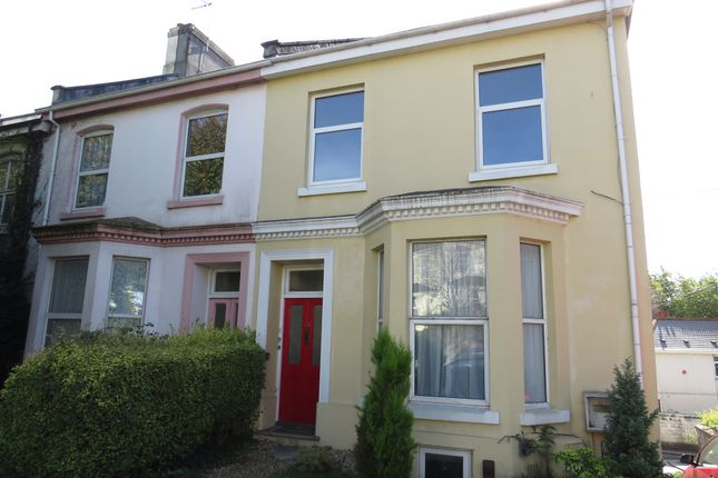 Thumbnail Flat for sale in Stuart Road, Stoke, Plymouth