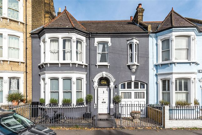 Thumbnail Terraced house for sale in Narbonne Avenue, London