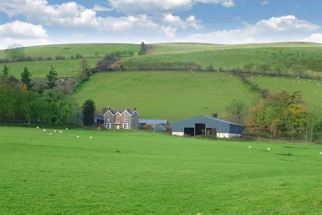 Thumbnail Farm for sale in Garthbwt, Clatter, Caersws, Powys