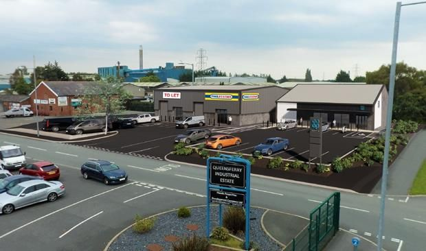 Thumbnail Light industrial to let in Unit 16 Queensferry Industrial Estate, Chester Road, Deeside, Flintshire