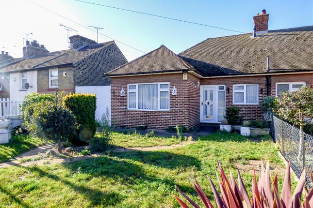 Thumbnail Semi-detached bungalow for sale in Sun Road, Swanscombe, Kent