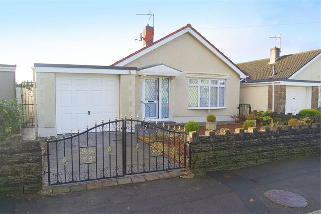 Thumbnail Detached bungalow for sale in Bryn Celyn, Maesteg, Mid Glamorgan