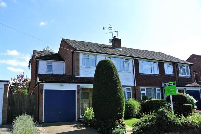 Thumbnail Semi-detached house for sale in Fletcher Road, Ottershaw, Chertsey