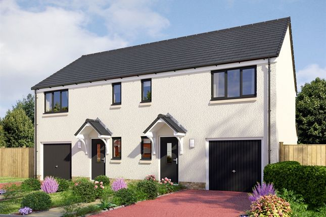 "Thumbnail Semi-detached house for sale in ""The Newton"" at Invergowrie, Dundee"