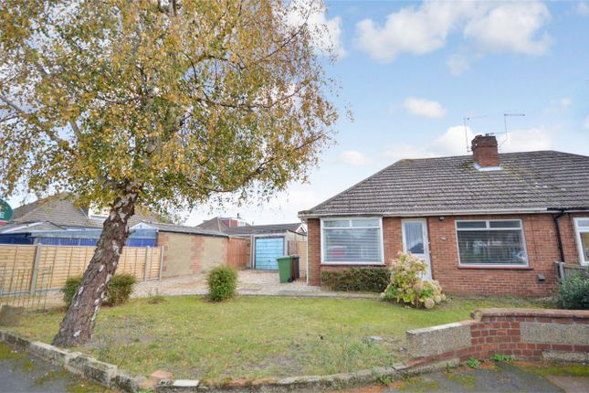 Thumbnail Semi-detached bungalow for sale in Linton Close, Sprowston, Norwich
