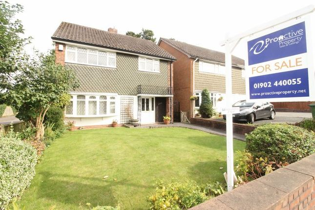 Thumbnail Detached house to rent in Penn Road, Penn, Wolverhampton