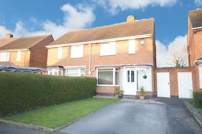 Thumbnail Semi-detached house for sale in Shirley Park Road, Shirley, Solihull