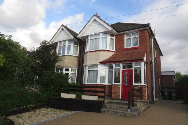 Thumbnail Semi-detached house for sale in Upper Brownhill Road, Southampton