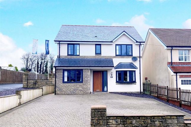 4 bed detached house for sale in Hendre Road, Llangennech, Llanelli SA14