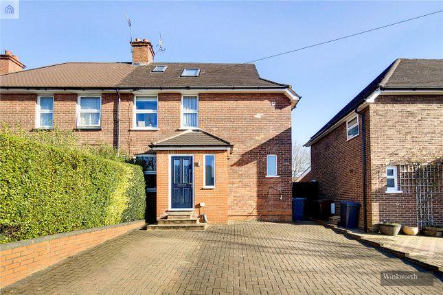 Thumbnail Semi-detached house for sale in Hillside Avenue, Borehamwood