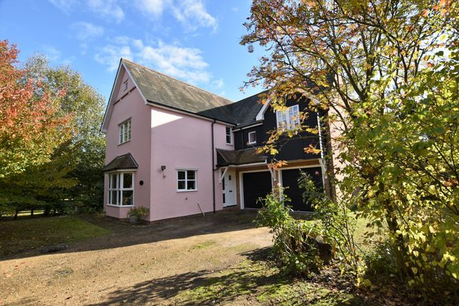 Thumbnail Detached house for sale in Perry Lane, Langham, Colchester, Essex