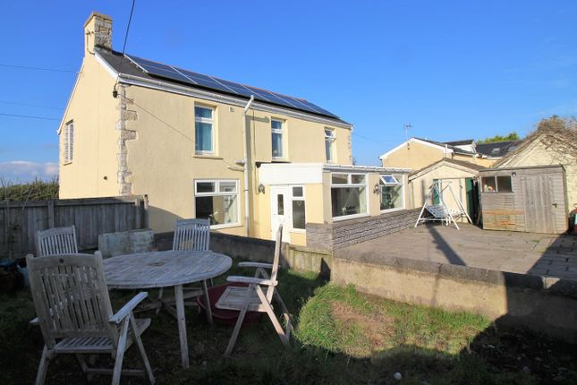 Thumbnail Detached house for sale in Llanmaes, Llanmaes