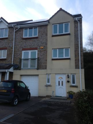 Thumbnail Town house to rent in Claremont Field, Ottery St Mary
