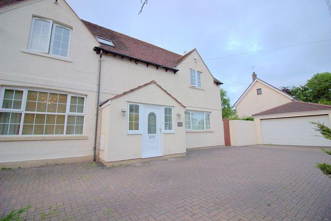 Thumbnail Semi-detached house for sale in Marshfield Road, Marshfield, Cardiff.