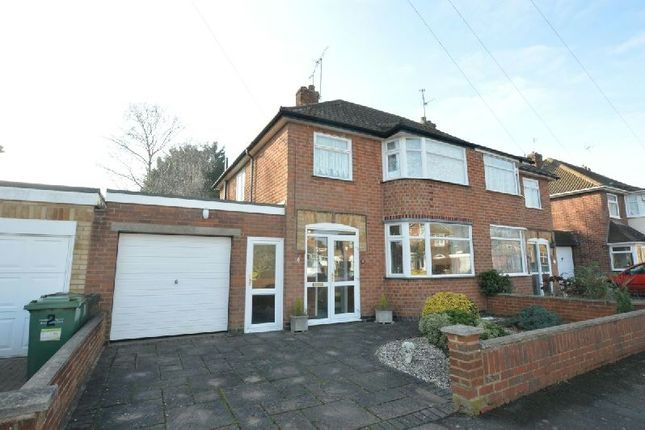 Thumbnail Semi-detached house for sale in Duffield Avenue, Wigston