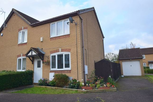 Thumbnail Semi-detached house for sale in Bantock Close, Browns Wood, Milton Keynes