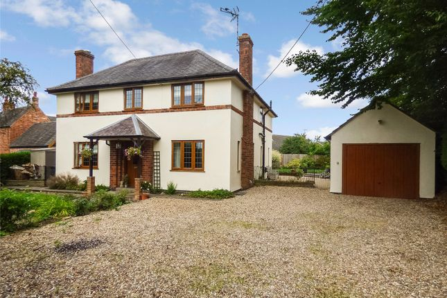 Thumbnail Detached house for sale in Main Road, Claybrooke Magna, Lutterworth, Leicestershire