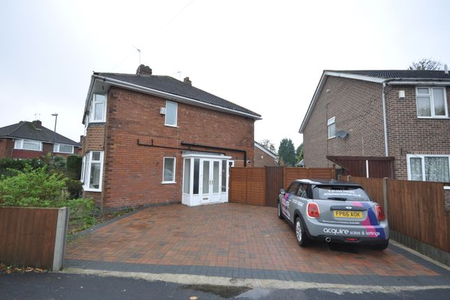Thumbnail Semi-detached house to rent in Kendon Avenue, Sunnyhill, Derby
