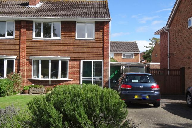 Thumbnail Semi-detached house to rent in Gilkicker Road, Gosport