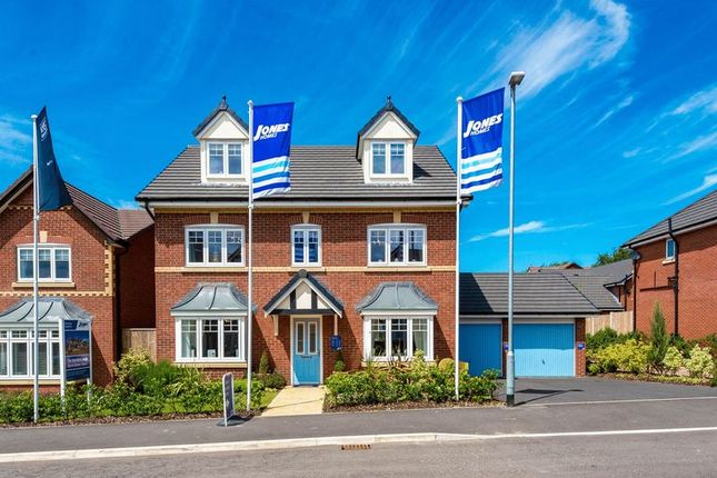 Thumbnail Detached house for sale in Plot 24, The Bowdon, Roseacre Gardens, New Road, Rufford